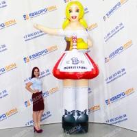 надувная рекламная кукла