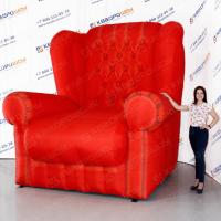 Надувной кресло для рекламы мебели