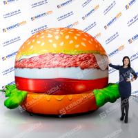 Надувная реклама бургерной