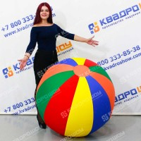 Большой мяч в базовых цветах