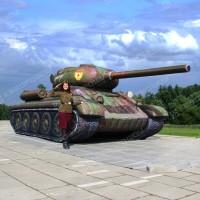 надувной муляж Танк Т-34