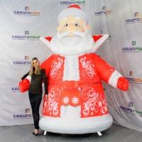 Надувная световая фигура Дед Мороз