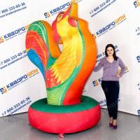 Петушок надувной разноцветный